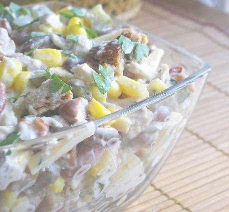 Ловияли салат тайёрлаш