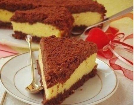 Шоколад ранг творогли торт