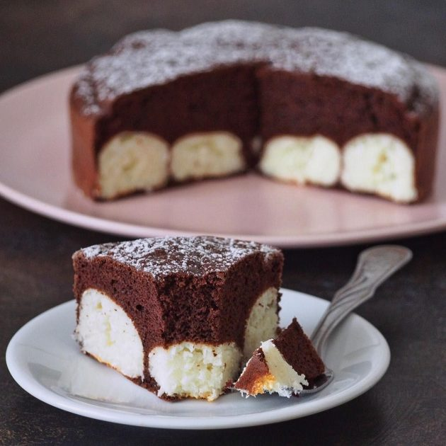 Шоколадли пирог тайёрлаш